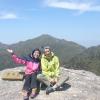 Hesla (Australia ) & Siggy (Germany) on 黒味岳