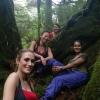 Vivian, Anita, Aurellia & Ellen at Yakusugi Land (2)