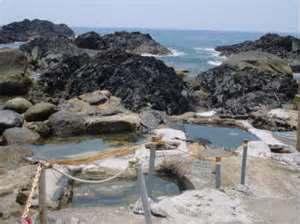 seaside hot springs