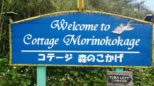 Mori no Kokage Sign