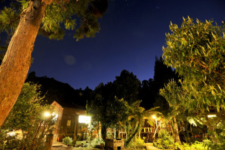 Yaedake Sanso Lodge Night